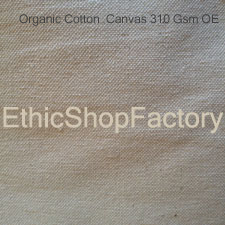 Fabric Organic Cotton Canvas 310 OE