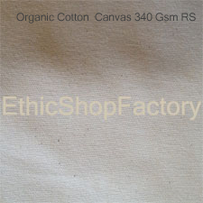 Fabric Organic Cotton Canvas 340 RS