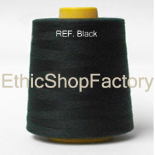 Serger Thread Black