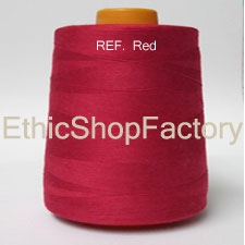 Serger Thread Red