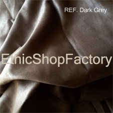 Suede Fabric Dark Grey