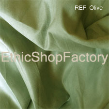 Suede Fabric Olive
