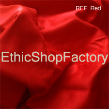 Suede Fabric Red