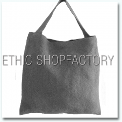 Lalita Washed Jute Bag Grey