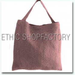 Lalita Washed Jute Bag Pink