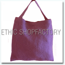 Lalita Washed Jute Bag Purple
