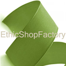 Cotton Ribbon Green Large