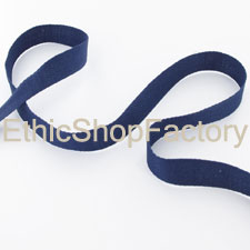Cotton Ribbon Marine