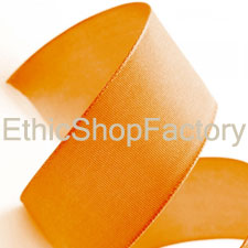 Cotton Ribbon Orange Large