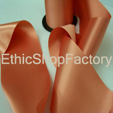 Satin Ribbon Corail