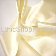 Satin Ribbon Cream