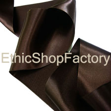 Satin Ribbon Dark Brown