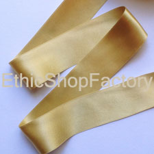Satin Ribbon Gold