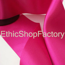 Satin Ribbon Hot Pink