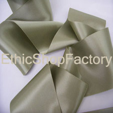 Satin Ribbon Silver