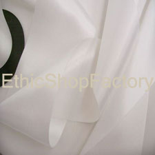 Satin Ribbon White