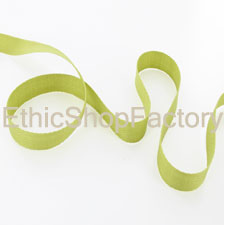 cotton Ribbon Green